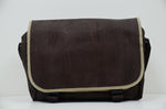 Load image into Gallery viewer, Brown Cork Laptop Bag Lutetia - CESARSCORK