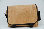 Load image into Gallery viewer, Natural Cork Laptop Bag Lutetia - CESARSCORK