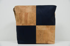 Blue Cork Handbag Matritium - CESARSCORK