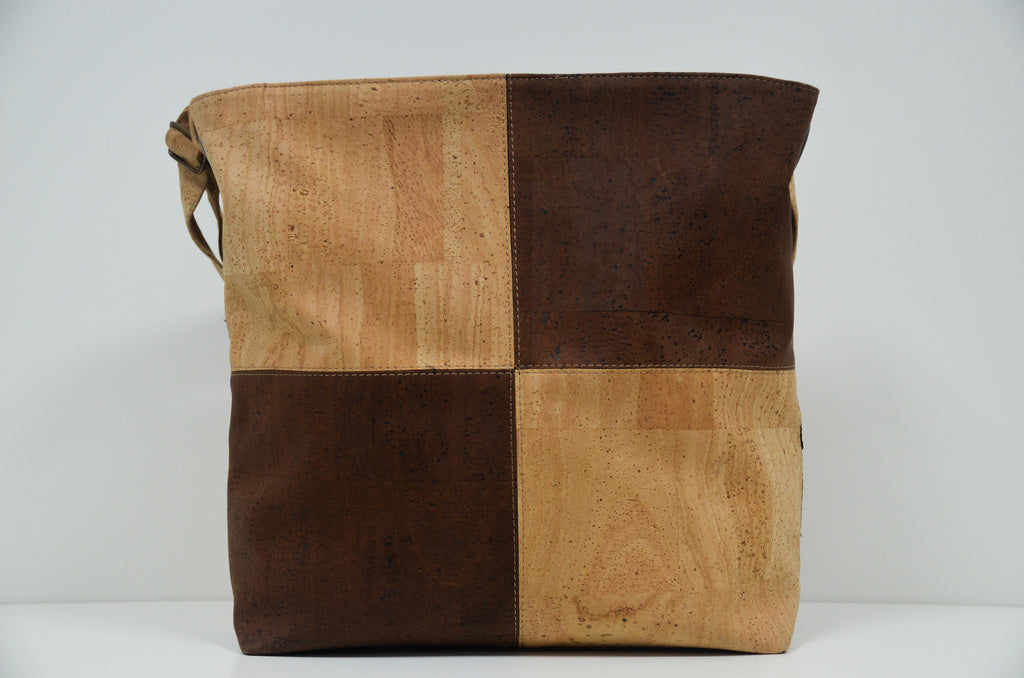 Brown Cork Handbag Matritium - CESARSCORK