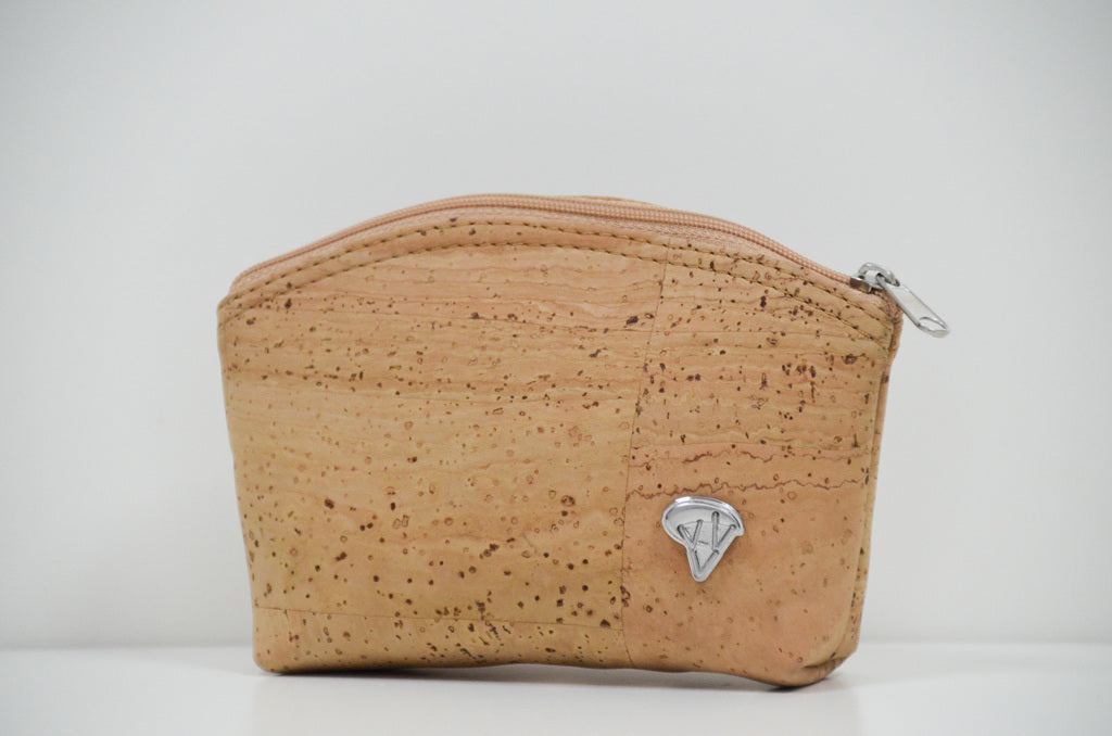 Natural Cork Purse Monda - CESARSCORK