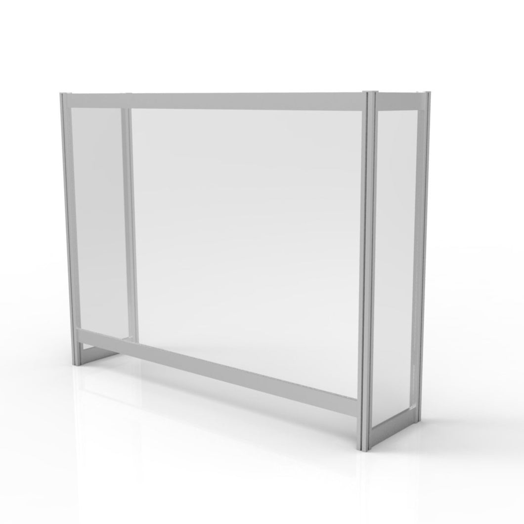 Enclosed Protective Desk Screen (PRSCRE) - Quickship