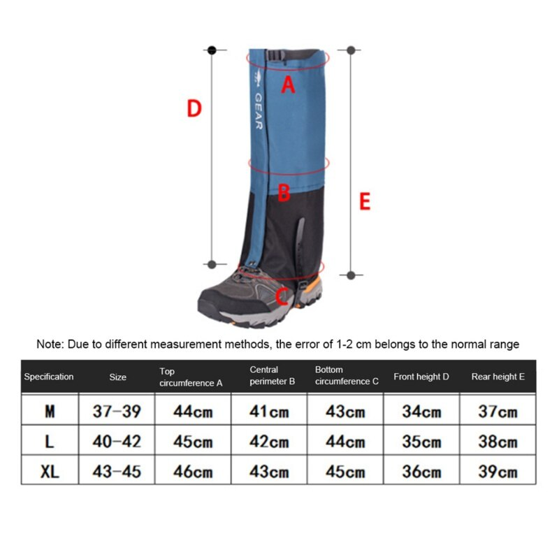 Outdoor, Camping, Hiking, Climbing, Waterproof Snow Legging Gaiters, Trekking, Skiing, Desert, Snow Boots, Shoes, Covers Accessories, Sports, iBuyXi.com, Online shopping store, Sport collection, winter collection, Sporting goods vendor, Free Shipping