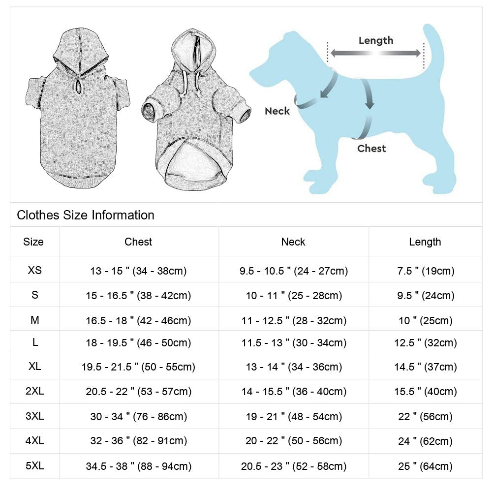 Custom Dog Cat Clothes, Pet Hoodie Jersey, Personalized Name Number Hoodies Clothes for Small Large Dogs, Sweat Shirt,  iBuyXi.com