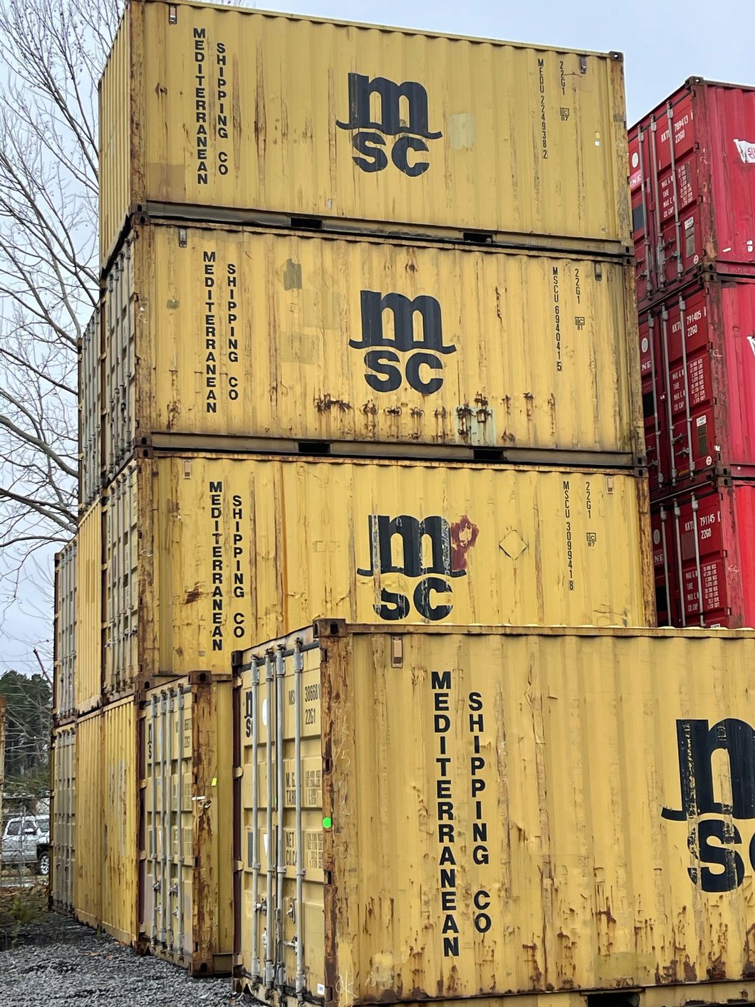 20' Used Shipping Containers in Indianapolis