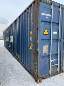Used 40' High Cube Shipping Container in Detroit, MI