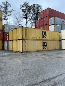 40' Used Shipping Containers in Detroit