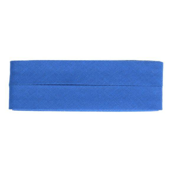 Biasband 12mm breed blauw - per meter