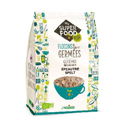 Flocons Epeautre Germes 350 G Germline