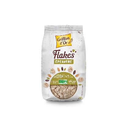 Flakes Epeautre 250g Grillon Or