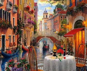 Kit de Pintura con Diamantes 5D - Diamond Paint - Venezia