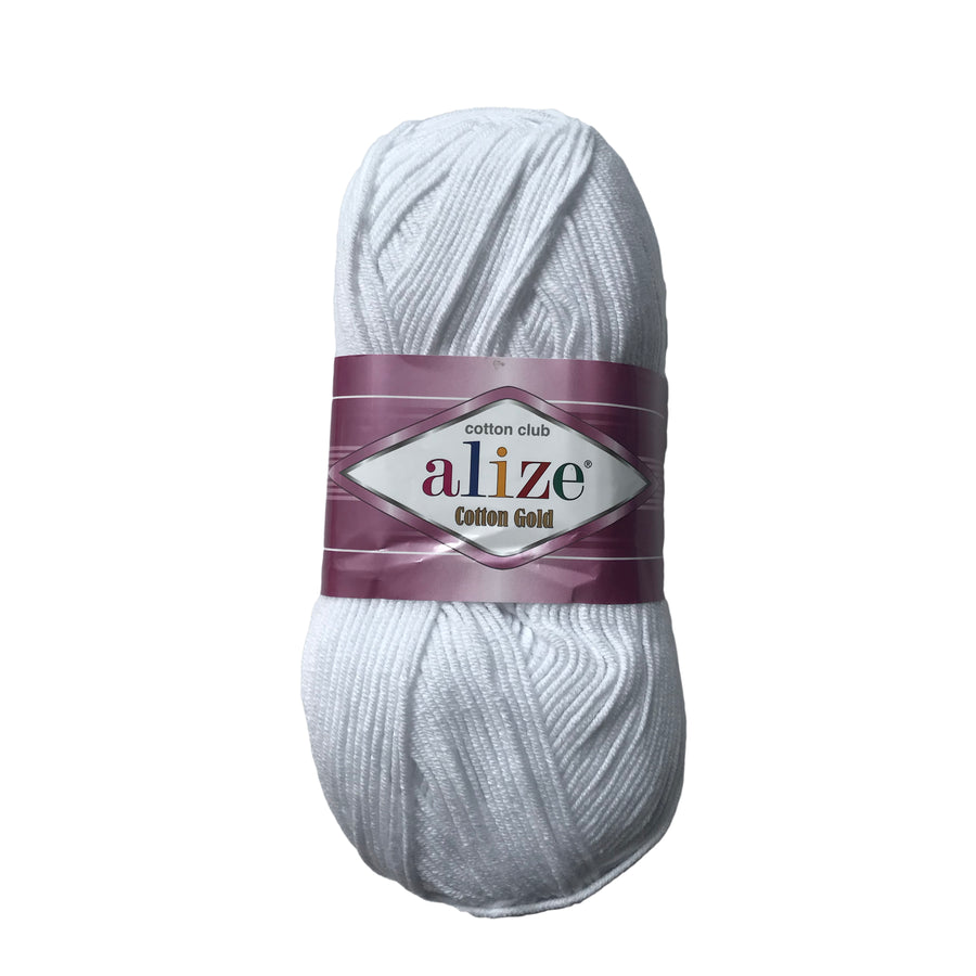 Alize Cotton Gold Blanca #55