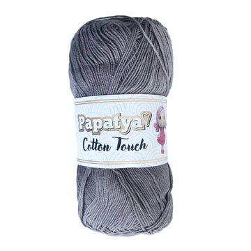 Lana Papatya Cotton Touch Cafe Grisoso # 130