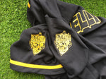 Jelly Roll Black and Gold Baseball Jersey