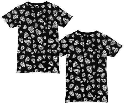 Jelly Roll Skull Pattern Sublimated Shirt