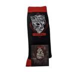 Jelly Roll Skull Socks