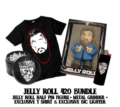 420 Bundle - Grinder, Bic, Shirt, Figure