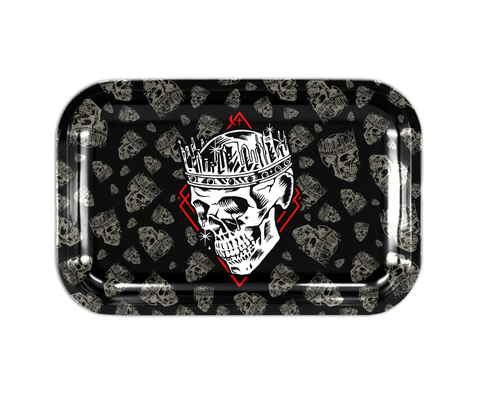 Jelly Roll Skull Tin Rolling Tray - Pre Order
