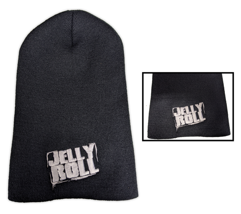 Jelly Roll Embroidered Logo Beanie 12""