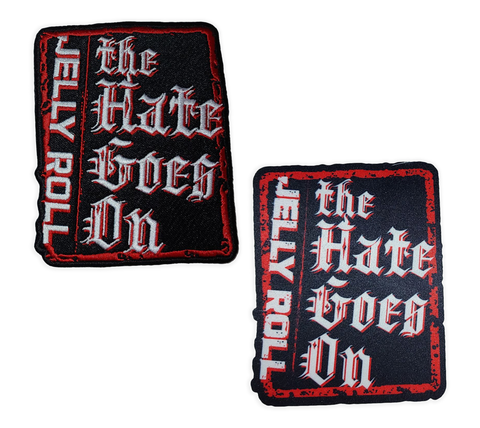 Jelly Roll The Hate Goes On Patches (2)