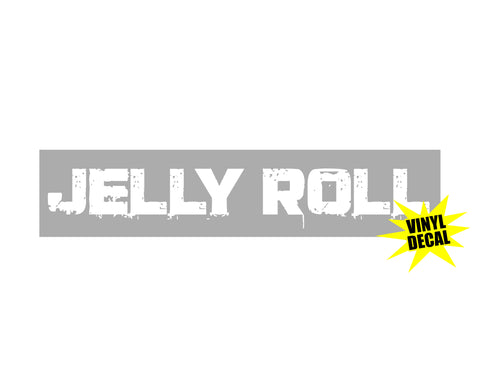 "Jelly Roll 9"" Vinyl Decal"
