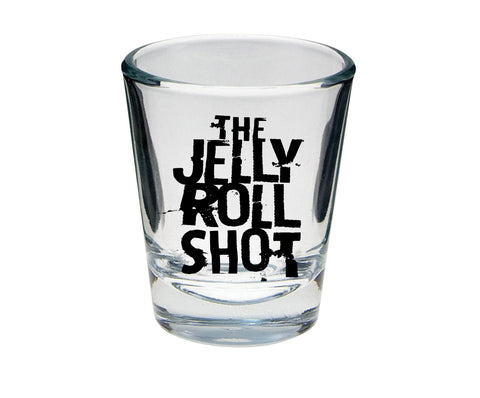The Jelly Roll Shot Oversized 4 oz. Shot Glass - Black Print