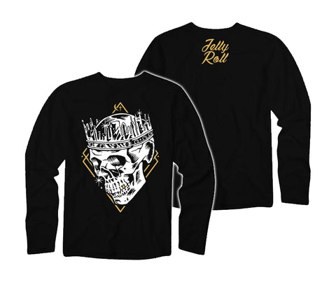 Jelly Roll Skull Crown Long Sleeve Shirt