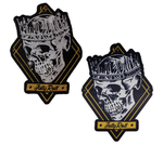 Jelly Roll Skull Patches (2)