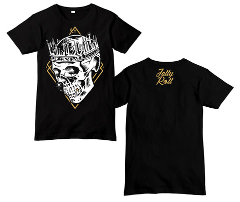 Jelly Roll Skull Crown T-Shirt
