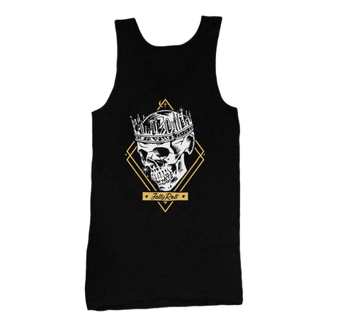 Jelly Roll Skull Crown Mens Tank Top