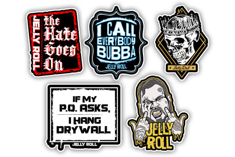 Jelly Roll Sticker Pack