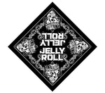 Jelly Roll Skull Bandanna