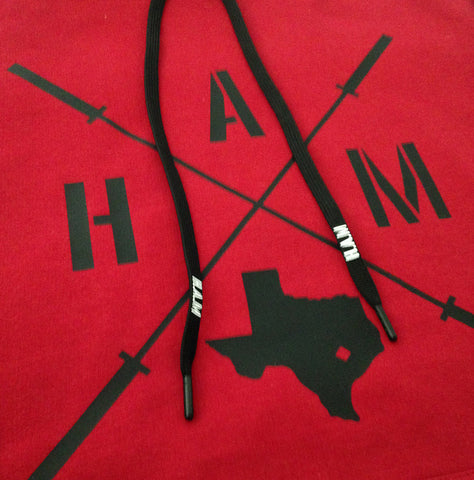 Texas HAM Pullover - Red