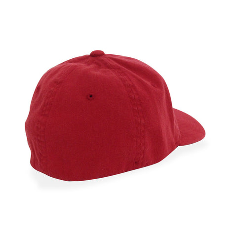 Go HAM - Red Washed Cotton Curved Bill