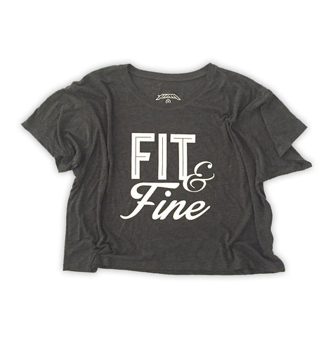 Fit & Fine Crop Top