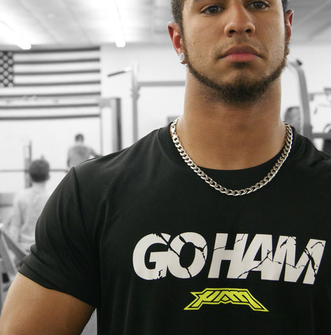 Go HAM - Signature Performance Tee - Black