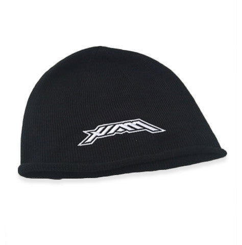 HAM -Oversized Knit Beanie - Black/White