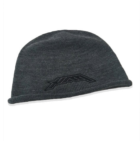 HAM - Oversized Knit Beanie - Grey/Grey