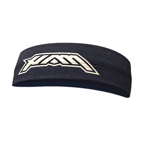 Go HAM - Heather Navy Headband