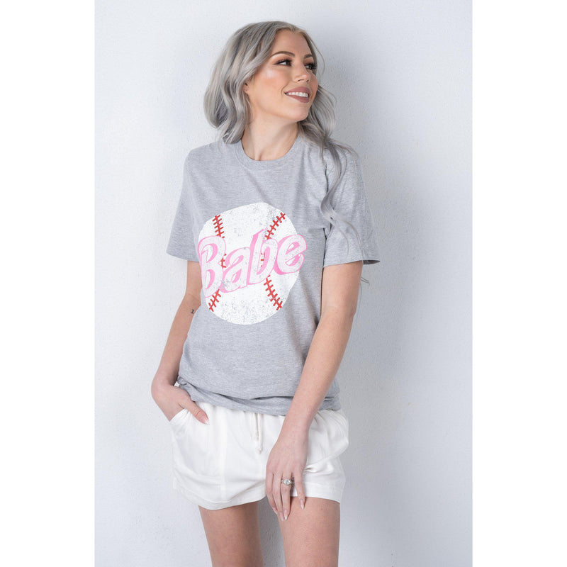 Baseball Babe Graphic tee (S-2XL)