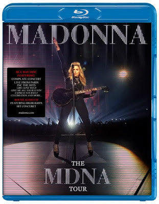 Madonna treasvres madonna the mdna tour blu ray 2013 voltagebd Image collections