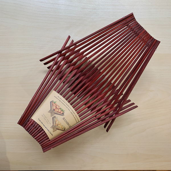 Chopstick Folding Basket - Medium - Red