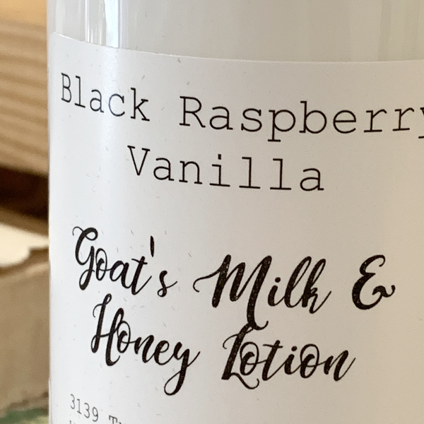 Goat's Milk & Honey Lotion
