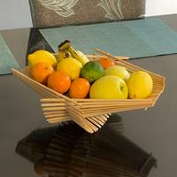 Chopstick Folding Basket - Medium - Natural