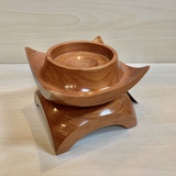 Asian Inspired Candle Holder - Cherry #6