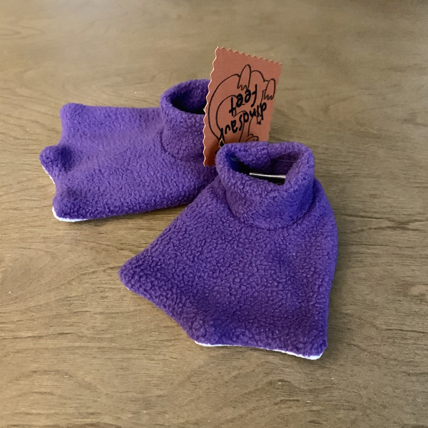 Dinosaur Feet Fleece Slippers