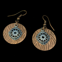 Copper Earrings #402