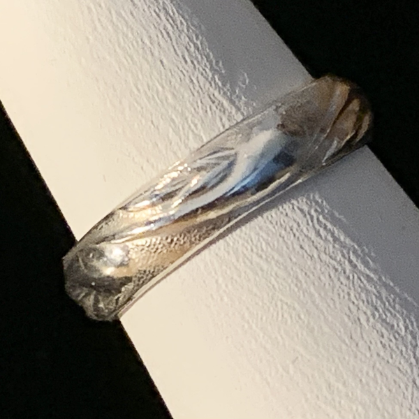 Silver Ring - Patterned - Style A
