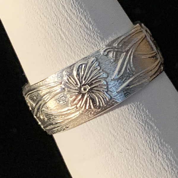 Silver Ring - Patterned - Style B