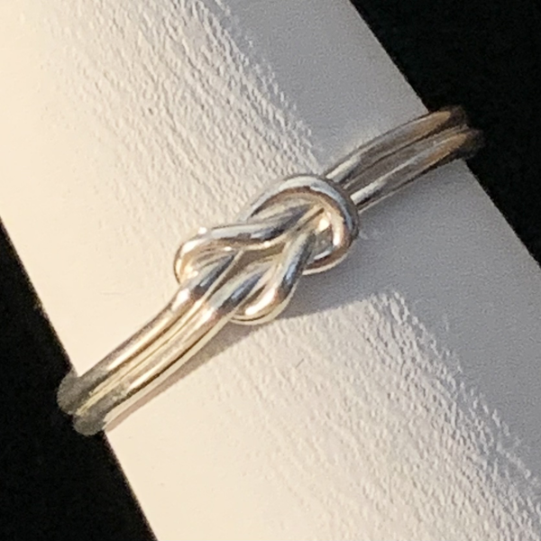 Silver Ring - Knot - Style C